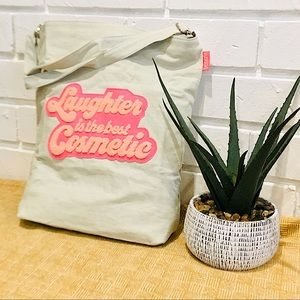 Benefit Laughter Is The Best Cosmetic Crossbody